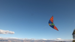 Flying a Kite with the last of the southern hemisphere winds of the season...