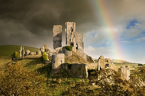 Corfe Castle Remains