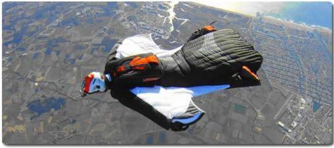 sky divingfly suit