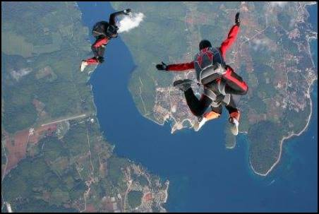 skydiving-Vrsar