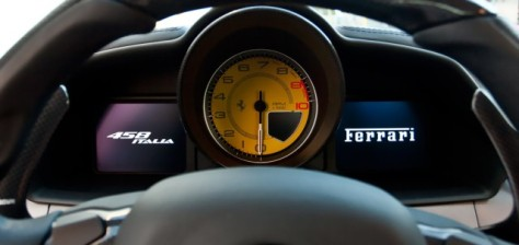 Ferrari dashboard
