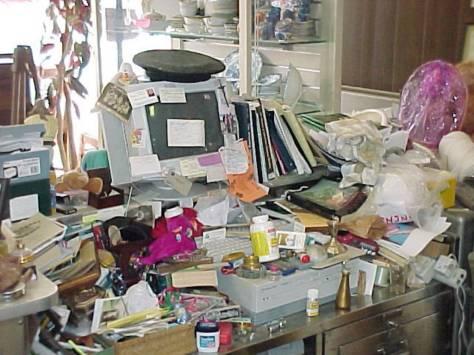Office-clutter