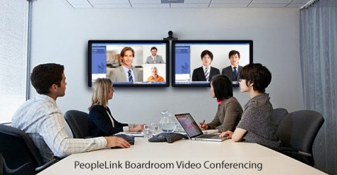 Peoplelink-boardroom-video-conferencing
