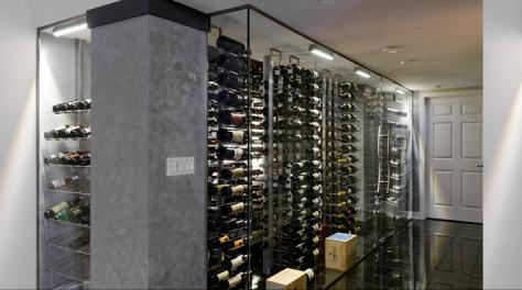 wine cellar modern