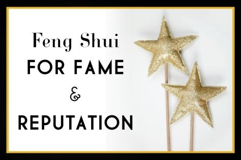 feng shui for fame
