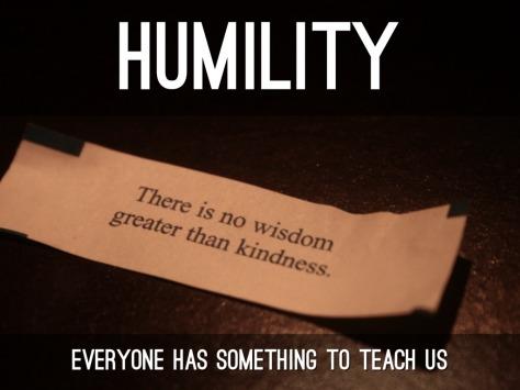 feng shui humility