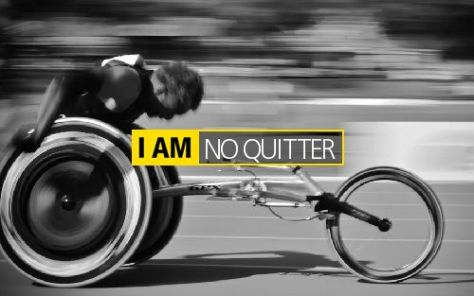 I Am No Quitter
