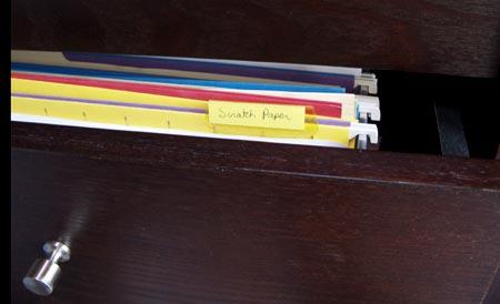 scratch-paper-folder