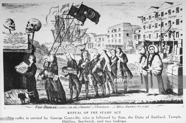 Colonial Stamp Act